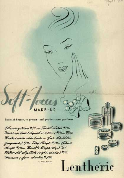 Lentheric's Soft-Focus Make-up – Soft-Focus Make-Up (1943)