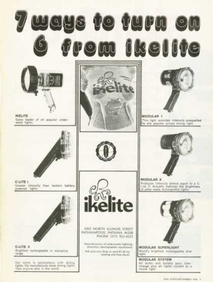 Ikelite Underwater Photography Diver Light (1976)