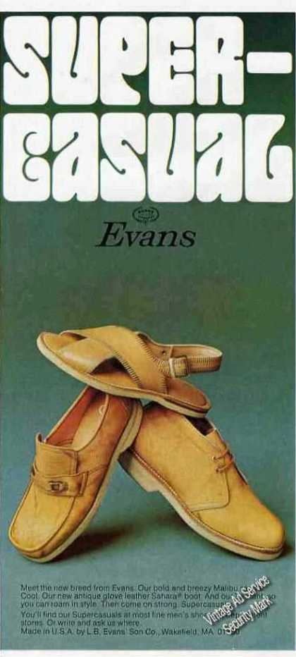 Super-casual By Evans Sandals/shoes (1975)