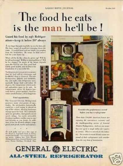 General Electric Refrigerator (1929)