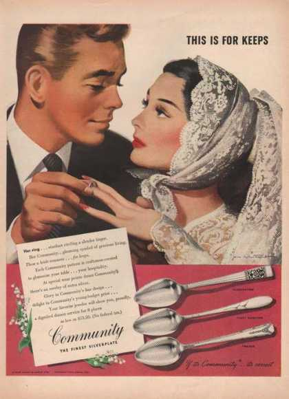 Community Finest Silverplat (1946)