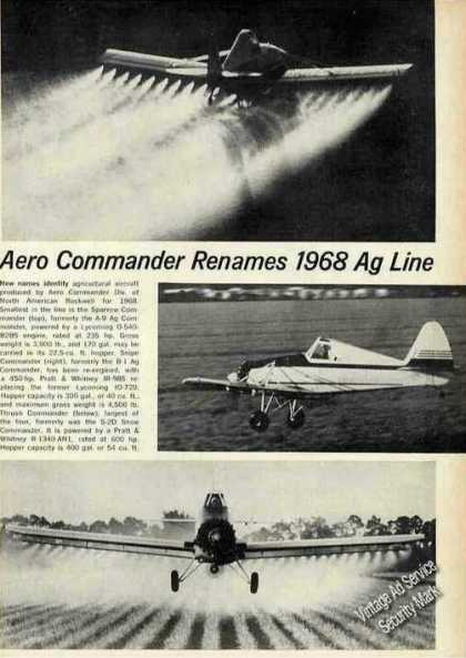 North American Sparrow Commander Agriculture (1968)