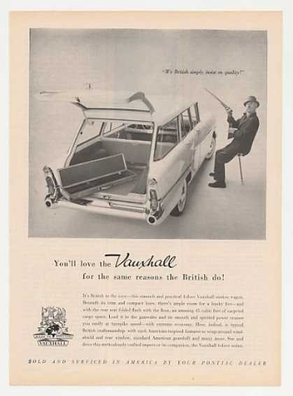 Vauxhall 4-Door Station Wagon British Quality (1959)