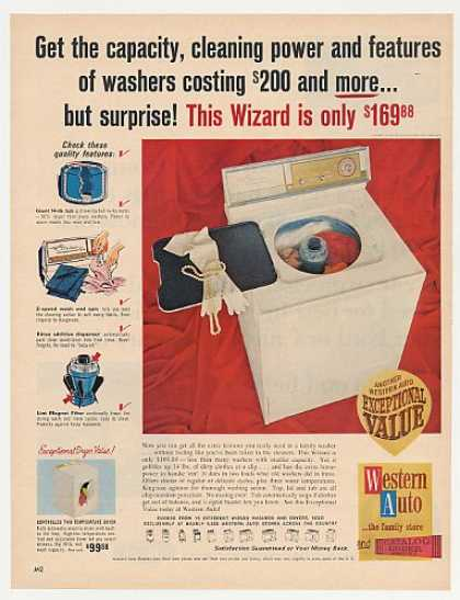 Western Auto Wizard Citation Custom Washer (1966)
