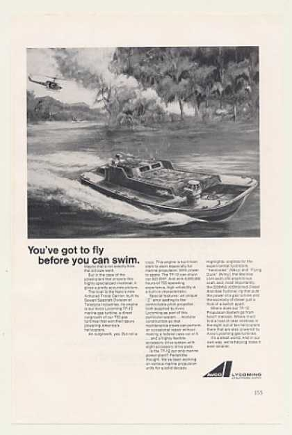 Navy Armored Troop Carrier Boat Avco Lycoming (1968)