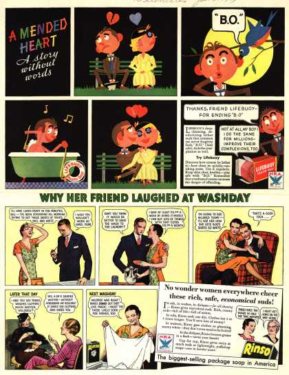Lever Brothers Company's Lifebuoy Health Soap – A Mended Heart (1934)