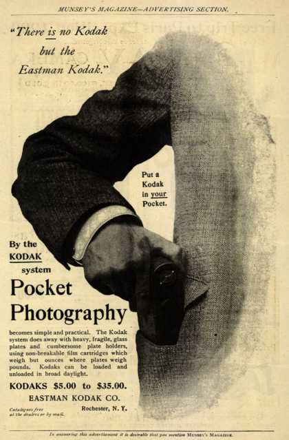 Kodak – Pocket Photography (1899)