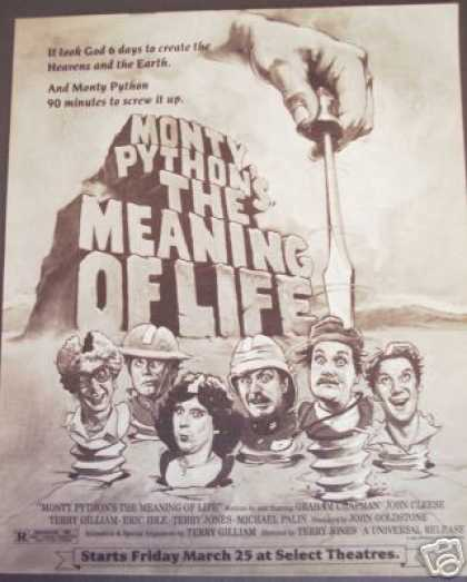 Monty Python's the Meaning of Life Movie Promo (1983)