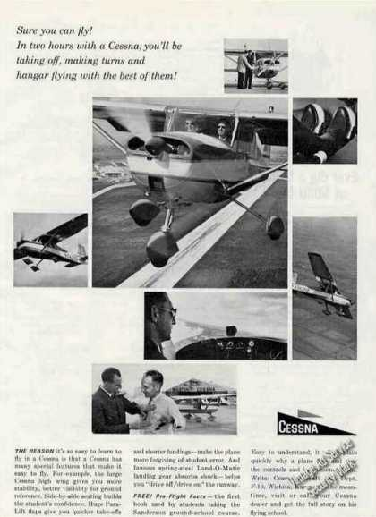 "Cessna ""Learn To Fly"" Multiple Photos (1963)"