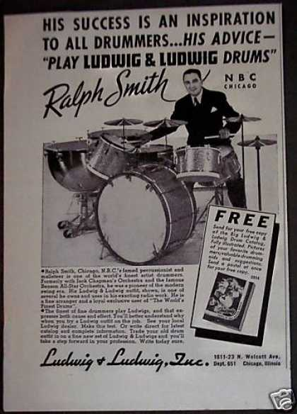 Ludwig Drums Ralph Smith (1940)