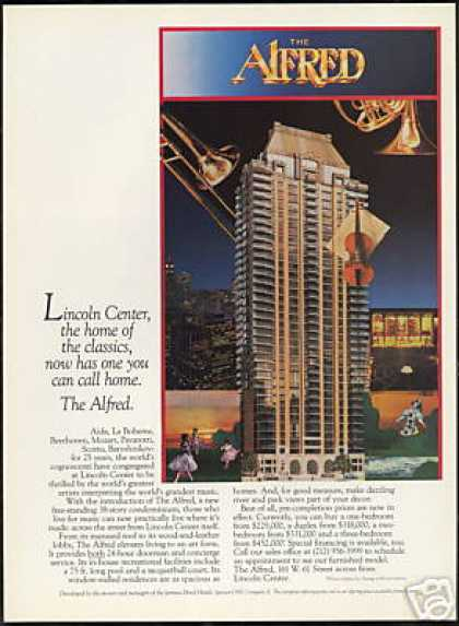 New York Lincoln Center The Alfred Condominium (1986)
