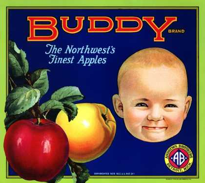 Buddy Apples, c. s (1920)