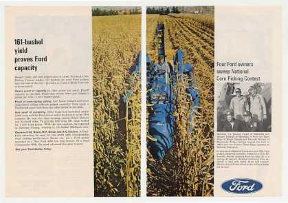 Ford Corn Picker Contest Winners 2-Page (1966)