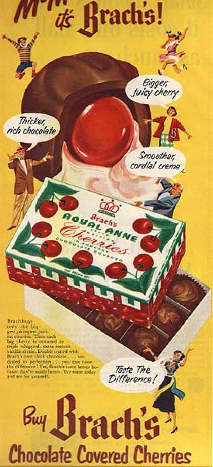 Brach's Chocolate Covered Cherries (1951)