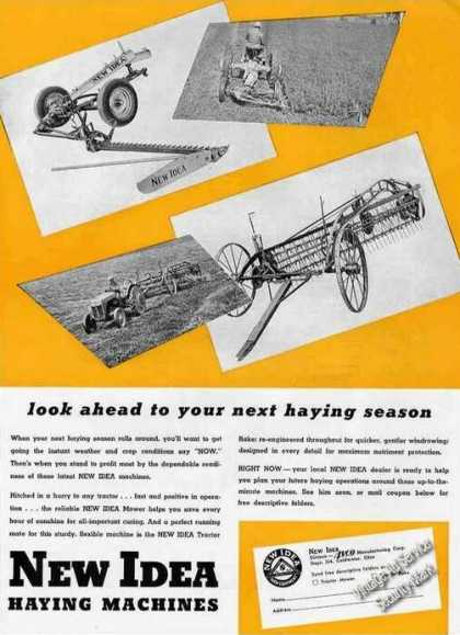 New Idea Haying Machines Coldwater Oh (1948)