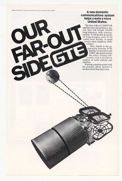 GTE COMSTAR Satellite Long Distance Phone Calls (1976)