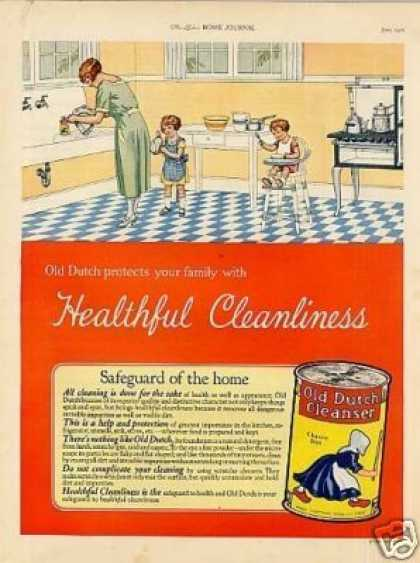 Old Dutch Cleanser Color (1926)