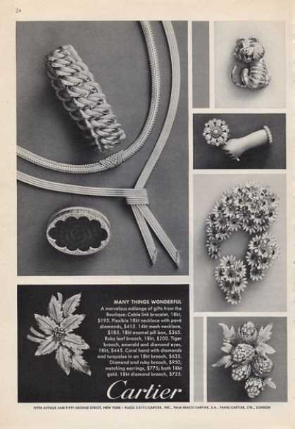 Cartier Jewelry Collection (1965)