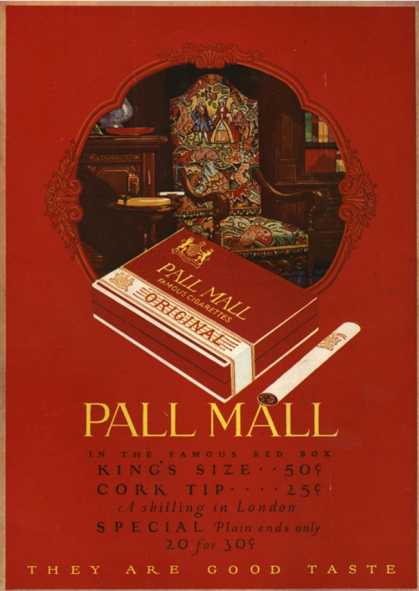 Pall Mall, UK (1920)