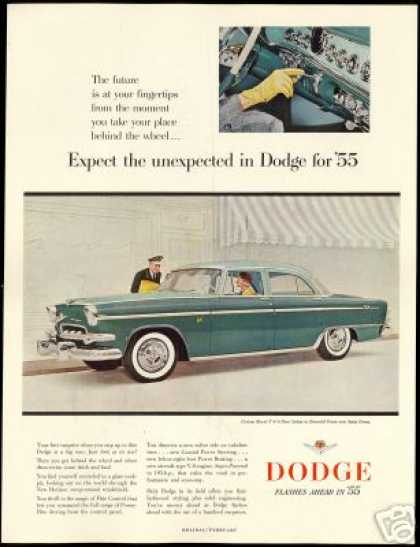 Dodge Royal V-8 4 Door Sedan 2 Tone Car (1955)