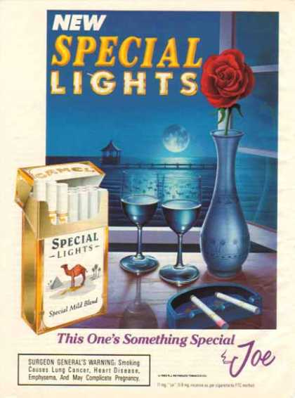 Camel Cigarettes New Special Lights (1993)
