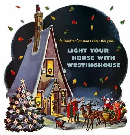Westinghouse Christmas Lights, 			Florian Kraner (1950)