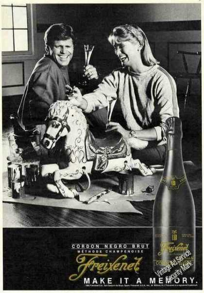 "Freixenet Cordon Negro ""Make It a Memory"" (1985)"