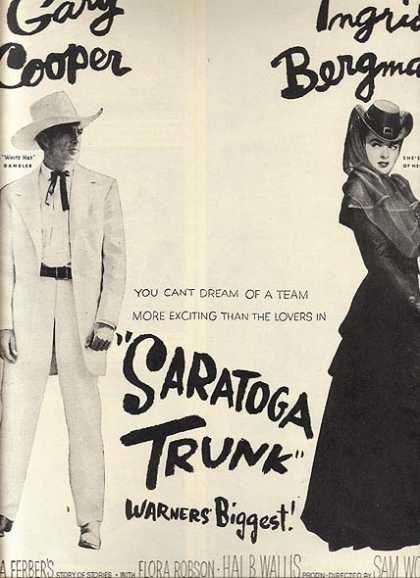 Saratoga Trunk (Gary Cooper and Ingrid Bergman) (1946)