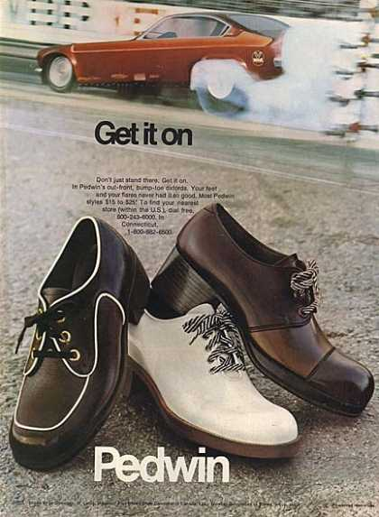 Pedwin's oxfords for men (1973)