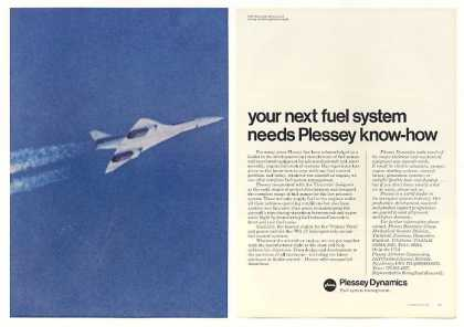 Concorde 002 First Supersonic Flight Plessey 2P (1971)
