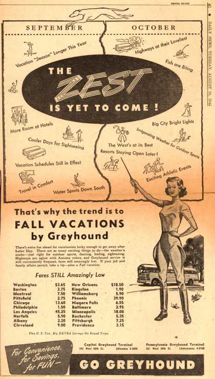 Greyhound – The Zest Is Yet To Come (1948)