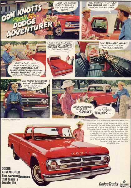 Chrysler's Dodge Adventurer (1969)