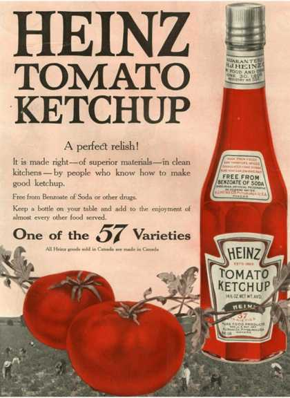 Heinz, USA (1910)