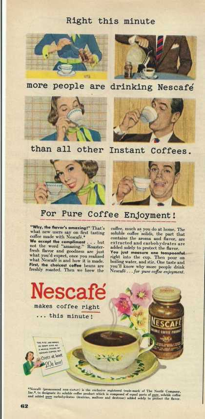 Nescafe Makes Coffee Right (1951)