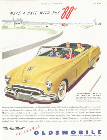 Olds Oldsmobile 88 Convertible (1949)