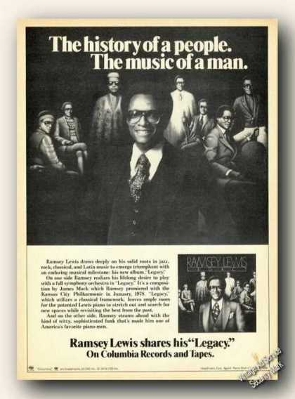 Ramsey Lewis Album Promo Photo Promo (1978)