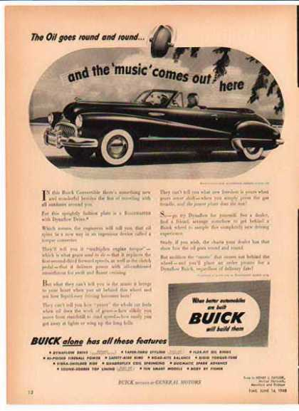 Buick Car – Buick Has all the Features – Sold (1949)