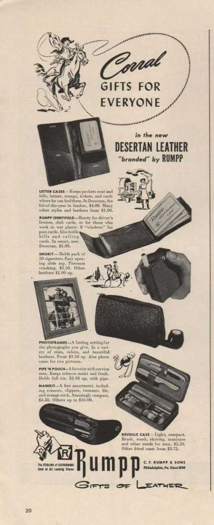 Rumpp Gifts of Desertan Leather (1942)