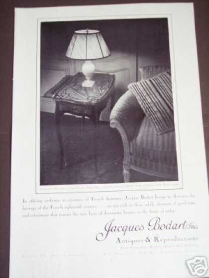 Jacques Bodart Antiques Store Madison Ave Photo (1937)