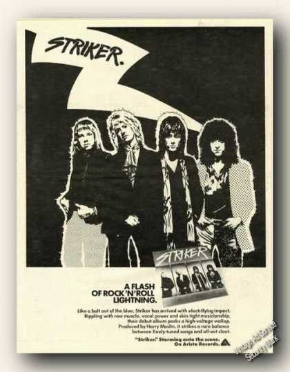 Striker Album Promo (1978)