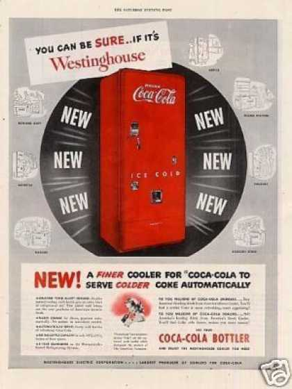 Westinghouse Ad Coca-cola Cooler (1949)