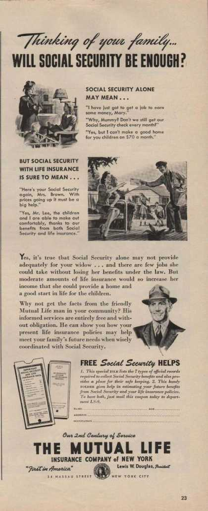 The Mutual Life Insurance Co of New York A (1944)