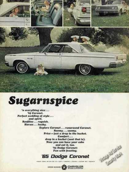 "Dodge Coronet Photos ""Sugarnspice"" Car (1965)"
