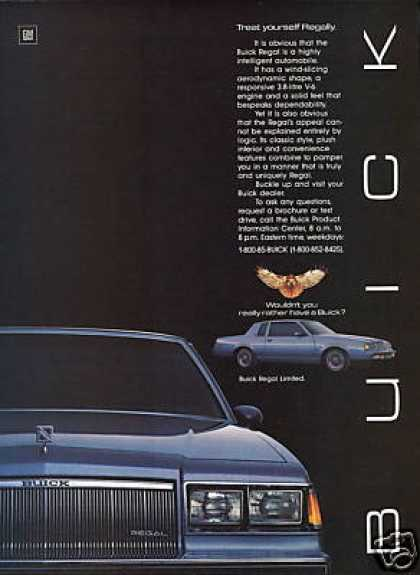 Buick Regal Limited Vintage Car (1985)