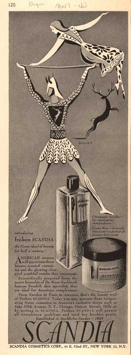 Scandia Cosmetics Corporation's Froken Scandia – Scandia (1943)