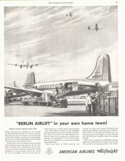 American Airlines Airfreight Cargo Plane (1949)