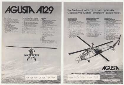 Agusta A129 Combat Helicopter (1982)