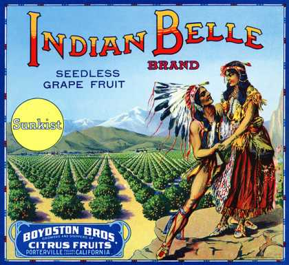 Indian Belle Grapefruit (1916)
