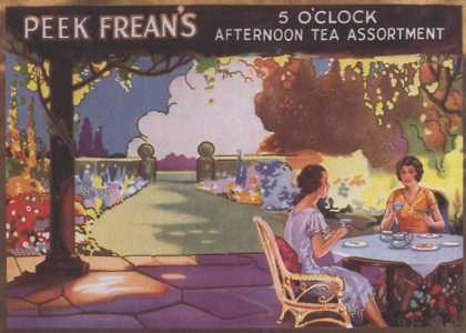 Peek Freans Biscuits, UK (1910)