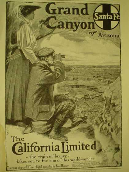 Santa FE railroad The California Railroad (1908)